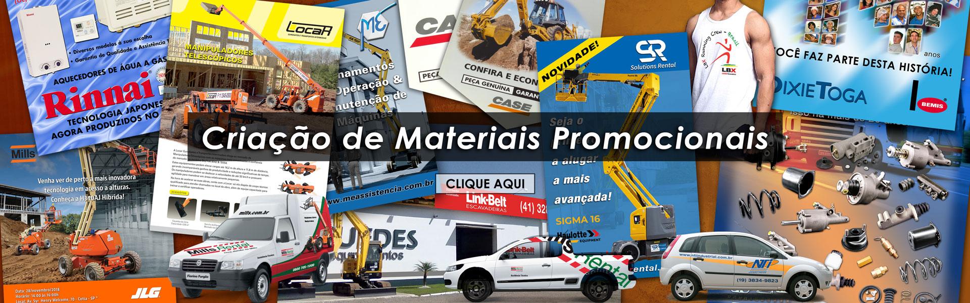 Design e Criação de Materiais Promocionais