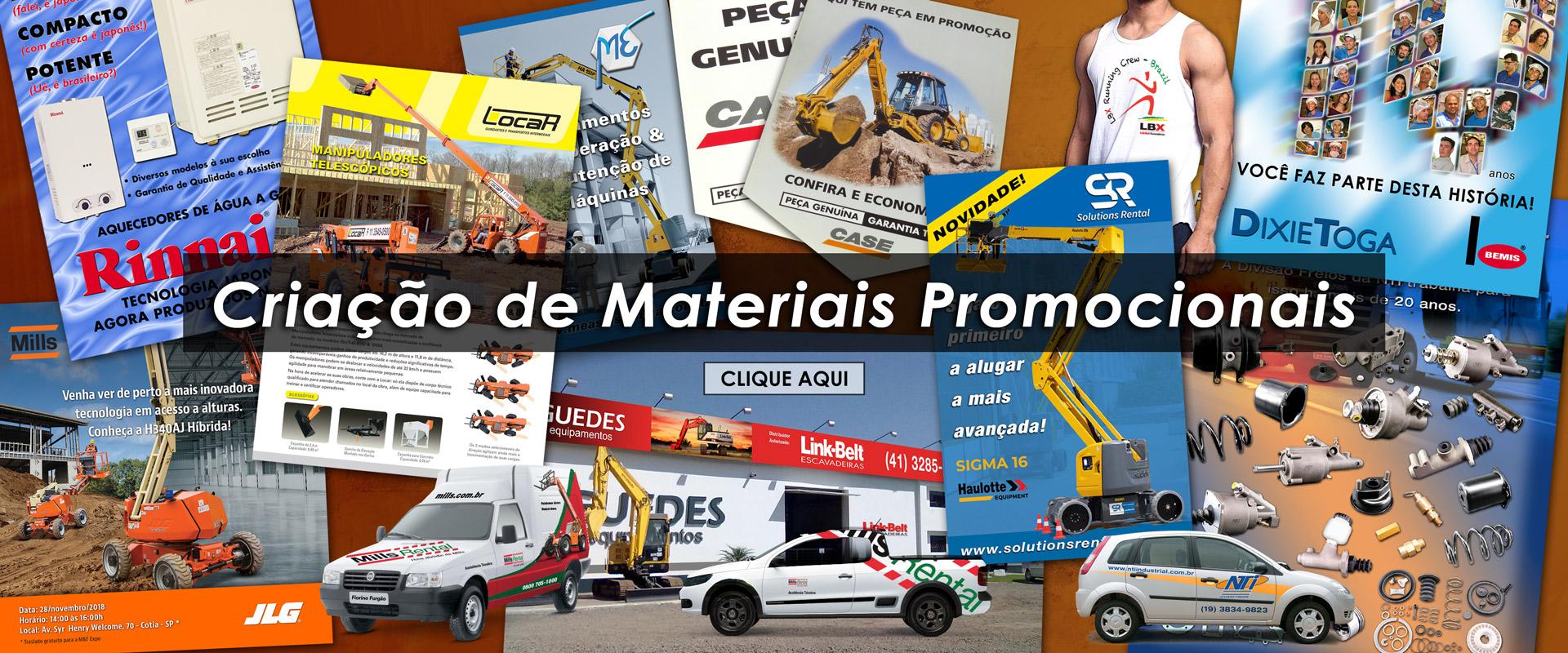 Criação de Materiais Promocionais